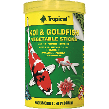Корм Tropical Koi & Goldfish Vegetable Sticks для рыб