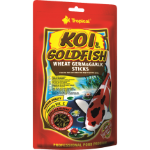 Корм Tropical KOI & Goldfish Wheat Germ & Garlic Sticks для рыб