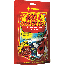 Корм Tropical Koi & Goldfish Super Color Sticks для рыб