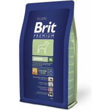 Корм Brit Premium Junior XL, курица фото