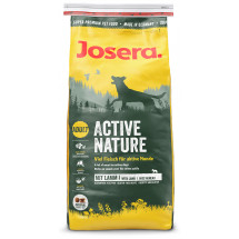 Сухой корм Josera Active Nature, для взрослых собак, с домашней птицей и ягненком фото