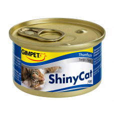 Консервы Gimpet Shiny Cat, с тунцом, 70г